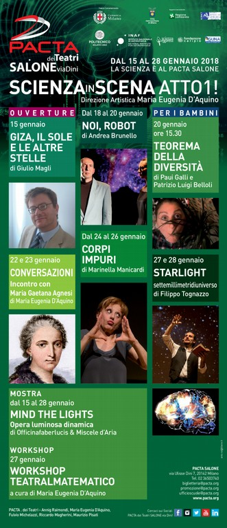 scienza in scena