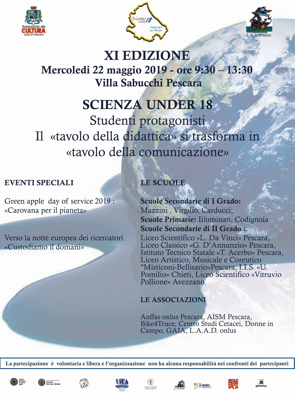 Cusmibio Calendario.Associazione Scienza Under 18 Dalle Sedi