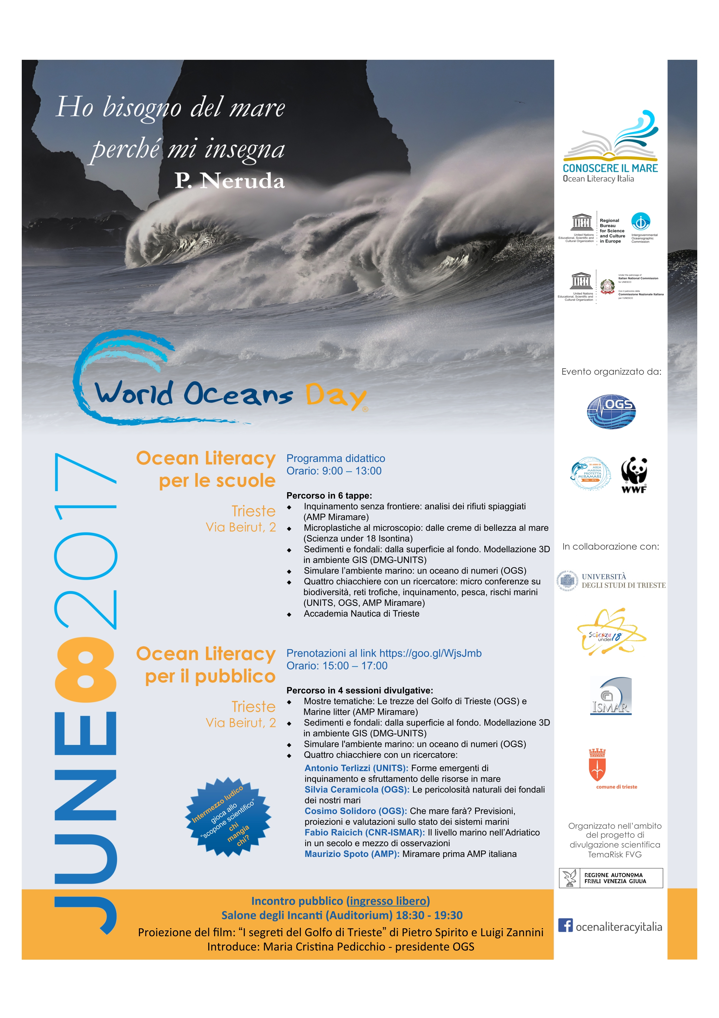 2017-06-08 Isontina - world ocean day